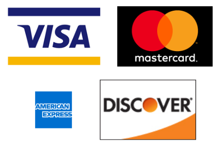 Contribution payments with Visa, Mastercard, American Express, Discover card and Pay Pal can all be processed through efund